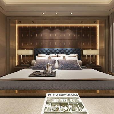 酒店现代客房