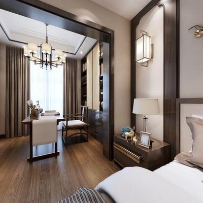 酒店中式客房