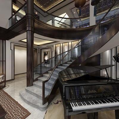 中式公寓客厅