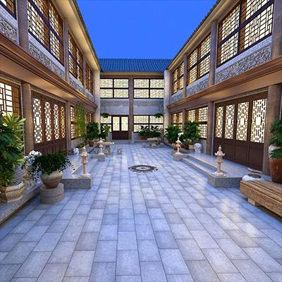 智能酒店大厅03