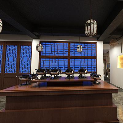 智能酒店餐厅01