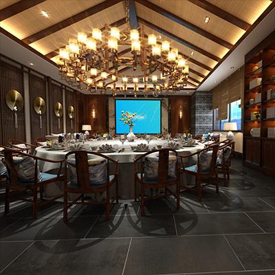 智能酒店餐厅02