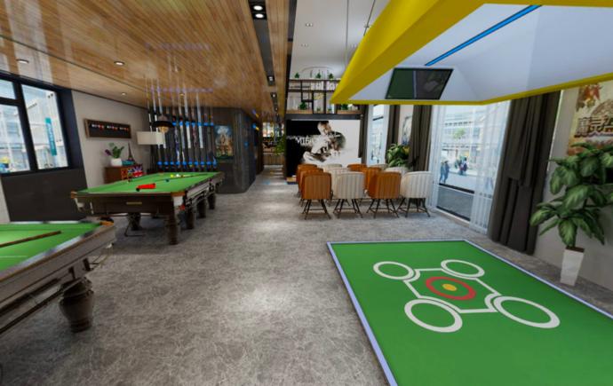 智能桌球房